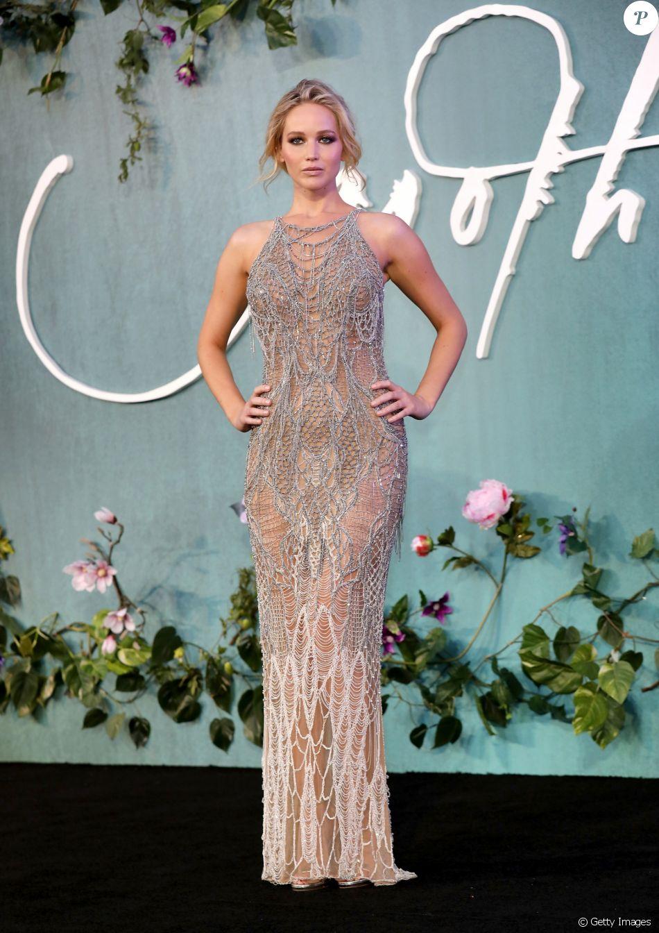 Jennifer Lawrence brilhou na première do filme 'Mother!', em Londres, na Inglaterra, nesta quarta-feira, 6 de setembro de 2017