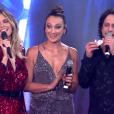 O ator Lúcio Mauro aproveitou a sua apresentação musical para anunciar que será pai novamente no palco do 'PopStar' deste domingo, 10 de setembro de 2017