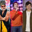 Carlinhos Brown, Daniel e Paulo Ricardo se apresentaram no palco do 'PopStar' deste domingo, 10 de setembro de 2017