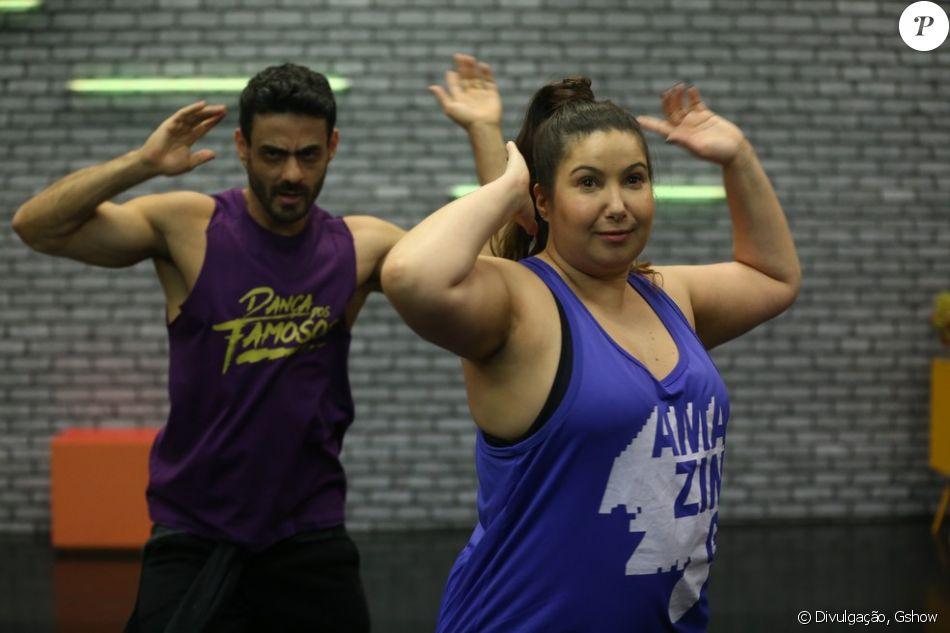 f4fde4381c Mariana Xavier relembrou a polêmica com o  Dança dos Famosos  nos ensaios  semanais