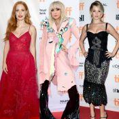 Veja os looks das famosas no tapete vermelho do Festival de Toronto. Fotos!