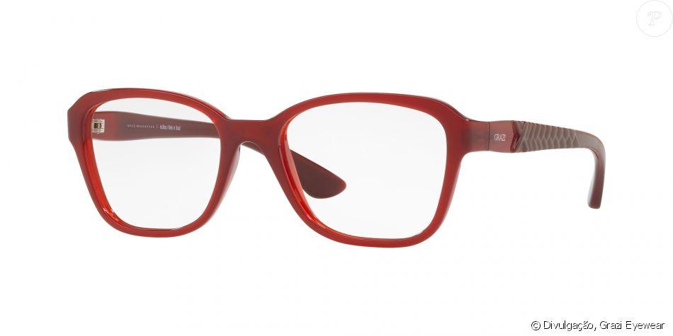 Os preços dos óculos da sétima coleção Grazi Eyewear variam de R  250 a R   350. Este da foto, por exemplo, tem o preço sugerido de R  300 0c5a3dc90a