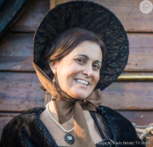 Márcia Cabrita volta à novela 'Novo Mundo' na pele de Narcisa, no capítulo final, previsto para ir ao ar em 25 de setembro de 2017