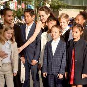 Angelina Jolie explica como prepara mala para seis filhos: 'Mais velhos ajudam'