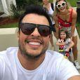 Ceará adora compartilhar momentos em família nas redes sociais