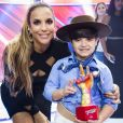 Ivete Sangalo foi vencedora da última temporada do 'The Voice Kids', com Thomas Machado