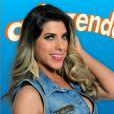 Ana Paula Minerato foi a vice-campeã de 'A Fazenda 8', se envolveu com Thiago Servo e levou chamada de Roberto Justus por gafe