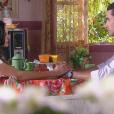 Gustavo (Carlo Porto) diz para Verônica (Elisa Brites) que só a tem como amiga e a secretaria passa a ficar distante dele, no capítulo que vai ao ar segunda-feira, dia 18 de setembro de 2017, na novela 'Carinha de Anjo'