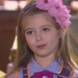 Dulce Maria (Lorena Queiroz) conversa com o pai de Lúcia (Helena Luz) e diz que a menina está sofrendo por ele ter decidido sair de casa, no capítulo que vai ao ar terça-feira, dia 19 de setembro de 2017, na novela 'Carinha de Anjo'