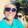 Marcelo Rezende namorava a carioca Luciana Lacerda desde fevereiro de 2016