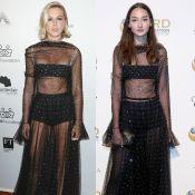 Fiorella Mattheis elege vestido Dior usado por Bruna Tenório para baile de gala