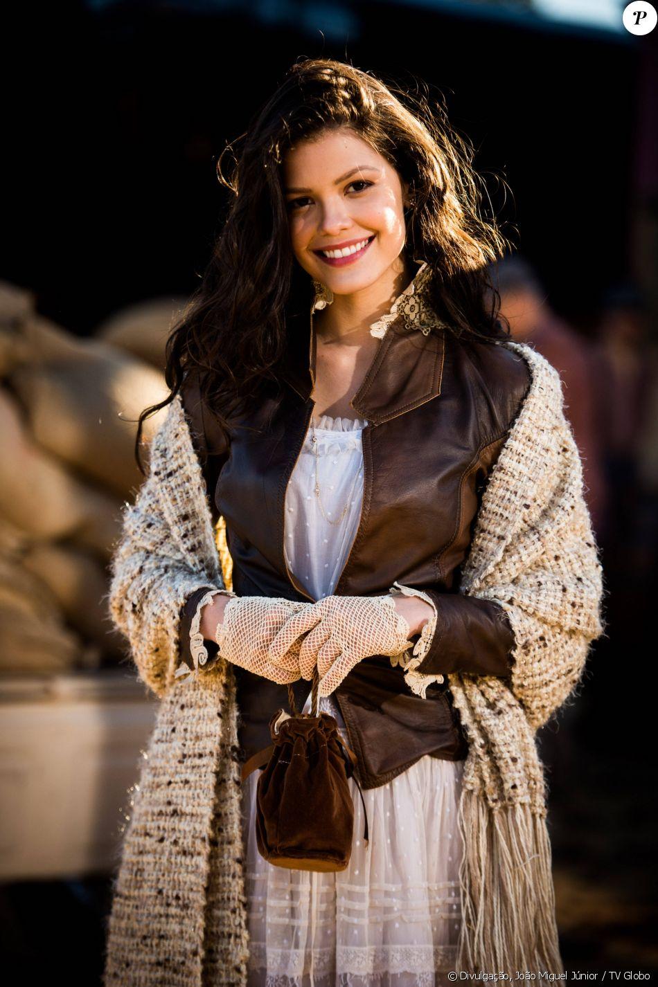 Vitória Strada é Maria Vitória na novela 'Tempo de Amar', que estreia dia 26 de setembro de 2017 no horário das seis da TV Globo