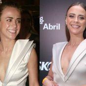 Juliana Silveira repete vestido 7 anos depois: 'Nem sabia se ia entrar'. Compare