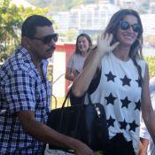 Gisele Bündchen, confirmada na abertura do Rock in Rio, desembarca no RJ. Fotos!