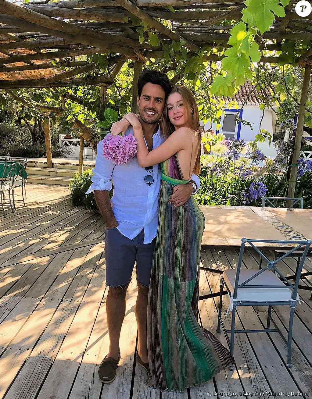 6a9ac6a965cdc Marina Ruy Barbosa vai usar vestido da grife Dolce   Gabbana em seu  casamento com Xandinho Negrão