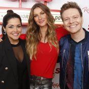 Thais Fersoza encontra Gisele Bündchen no Rock in Rio e elogia: 'Diva'. Fotos!