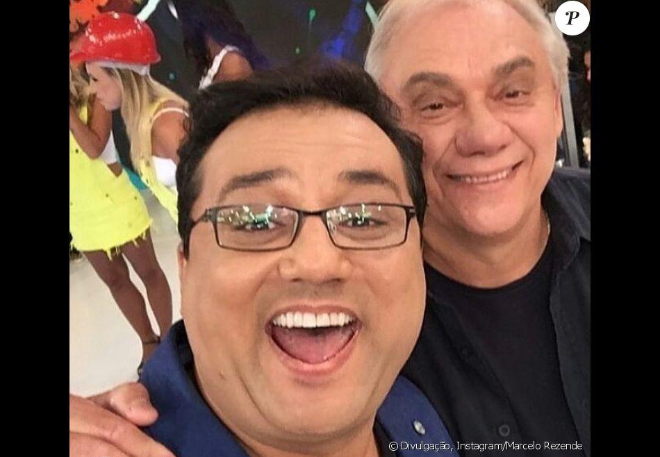 Marcelo Rezende ganha homenagem de Geraldo Luis após morte, neste sábado, dia 16 de setembro de 2017