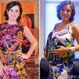 Regiane Alves engordou 14 quilos durante a gestação de seu primeiro filho, João Gabriel