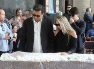 Geraldo Luis vai ao velório de Marcelo Rezende com Luciana Lacerda. Fotos!