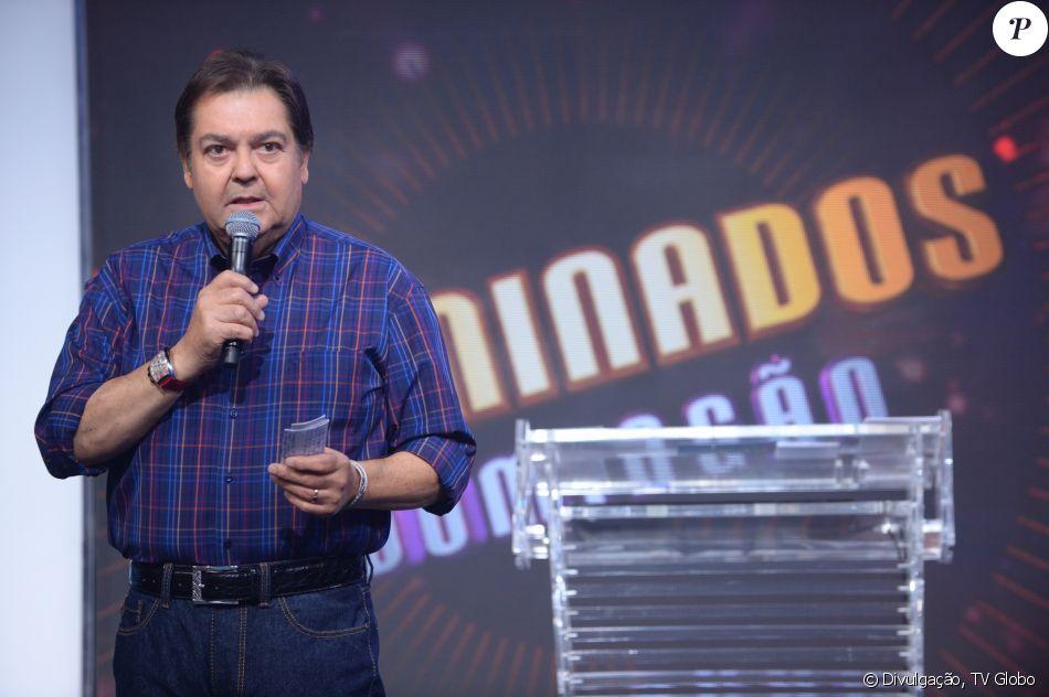 Faustão homenageou o amigo Marcelo Rezende neste domingo, 17 de setembro de 2017, durante o 'Domingão do Faustão'