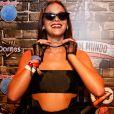 Bruna Marquezine dispensou a cantada do modelo Lucas Viana no Rock in Rio
