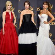 Vestidos volumosos marcam os looks das famosas no Emmy Awards. Veja fotos!
