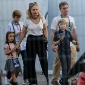 Luciano Huck, Angelica, Falabella e mais famosos levam filhos ao RIR. Fotos!