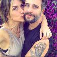 'Quando se tem amor, amizade e conversa não tem como dar errado', disse  Giovanna Ewbank, mulher de Bruno Gagliasso