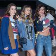 Sophia Abrahão, Thássia Naves e Mariana Goldfarb apostaram em estilos diferentes para participar do desfile da grife Tommy Hilfiger, em Londres, durante a semana de moda da capital, nesta terça-feira, 19 de setembro de 2017