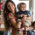 'Vou te falar que eu me apaixonei por esse menino!', afirmou Isis Valverde sobre Lorenzo Souza, seu filho cênico