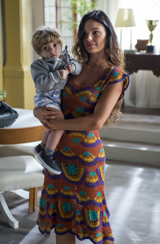 Isis Valverde diz que filho em 'A Força do Querer' aflorou maternidade em entrevista ao 'Vídeo Show' nesta quarta-feira, dia 20 de setembro de 2017