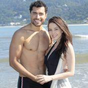 Bia Arantes vibra com beijo de Cecília e Gustavo em 'Carinha de Anjo': 'Ansiosa'
