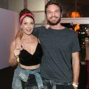 Emilio Dantas e Fabiula Nascimento curtem 4° dia de RIR: 'Fã de Aerosmith'