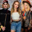 Looks de Barbara França, Isabella Scherer e Lua Blanco foram destaque no Rock in Rio. Veja mais produções!