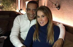 Zilu Camargo apresenta novo namorado e se declara: 'Solidão nunca mais'