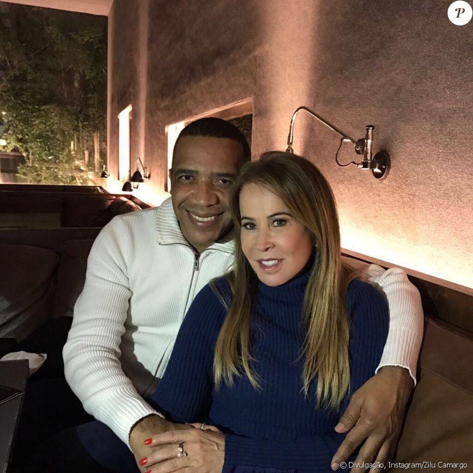 Zilu Camargo apresenta novo namorado e se declara nesta sexta-feira, dia 22 de setembro de 2017
