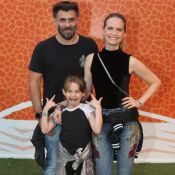 Filha de Fernanda Rodrigues faz caras e bocas e esbanja estilo no RIR: 'Vaidosa'