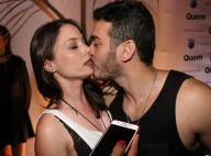 Marcos Veras beija Rosanne Mulholland e admite relação: 'Namorando'. Fotos!