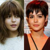 Julia Dalavia explica cabelo joãozinho após fim de série: 'Me despedi da Nanda'