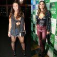 Viviane Araújo e Flávia Alessandra usaram a ankle boot da grife Louis Vuitton na mesma noite do Rock in Rio