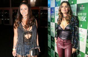 Quem vestiu melhor? Famosos repetem looks no Rock in Rio. Veja fotos!