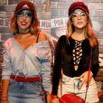 Jade Seba e Nah Cardoso repetiram óculos da marca Zero UV no Rock in Rio