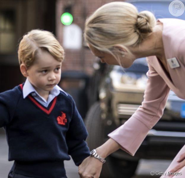 Príncipe George está exausto de escola após 3 semanas de aula, de acordo com o 'The Telegraph' nesta terça-feira, dia 26 de setembro de 2017