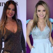 Mayra Cardi elogia determinação de Larissa Manoela, 4 kg mais magra: 'Exemplo'