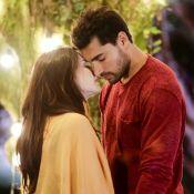 Beijo de Cecília e Gustavo em 'Carinha de Anjo' é elogiado na web: 'Química'
