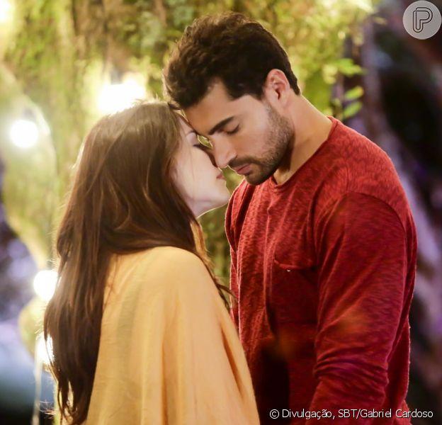 Beijo de Cecília e Gustavo em 'Carinha de Anjo' é elogiado na web nesta sexta-feira, dia 29 de setembro de 2017