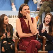 Monica Iozzi é surpreendida por pergunta sobre sexo na TV: 'Ponto G é mito?'