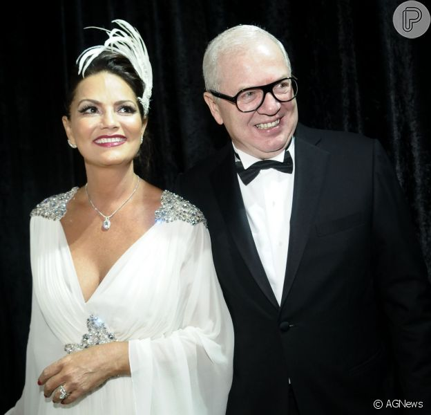 Luiza Brunet se separa do empresário Lírio Parisotto, diz jornal