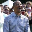 Michelle Obama e Barack Obama são conhecidos pelo jeito descontraído dos dois
