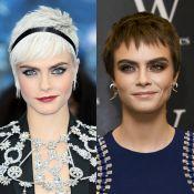 Novo visual: Cara Delevingne muda cabelo e exibe fios castanhos. Veja resultado!